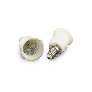 Adapter for light bulbs from E27 to E14