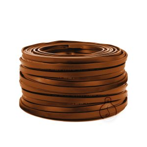 Flat corten cable for outdoor use for chain construction